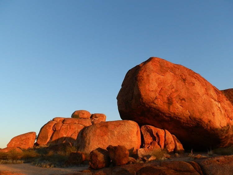 Devils Marbles at Sunset, Northern Territory