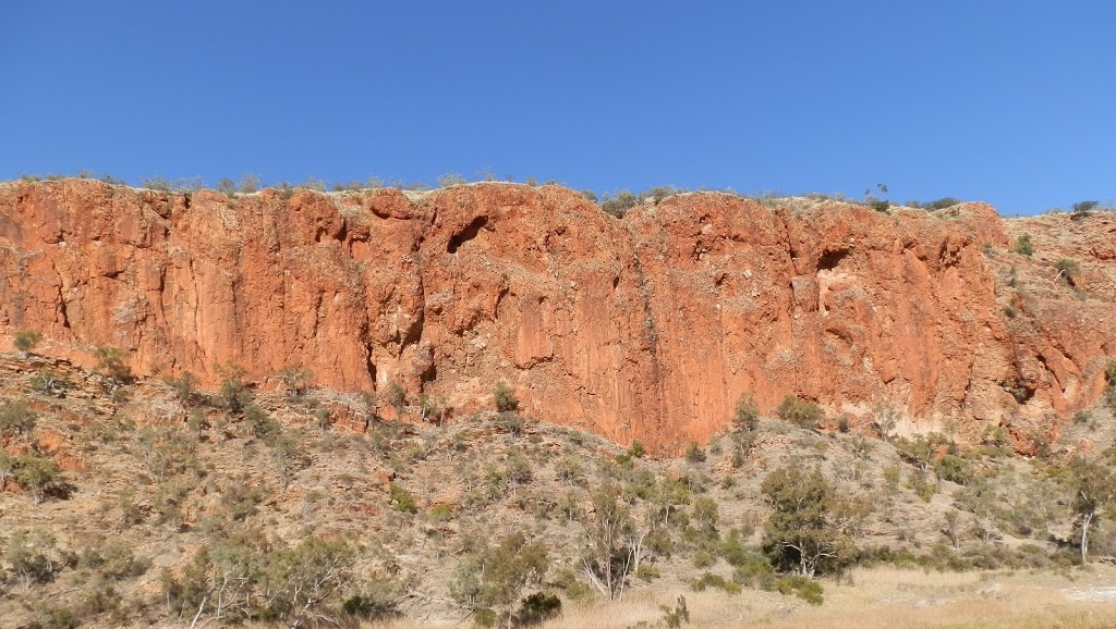 Glen Helen Gorge Walls, Central Australia
