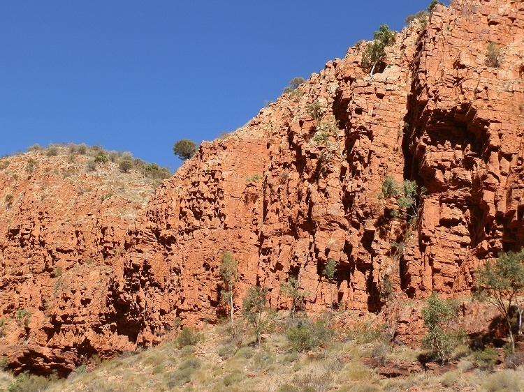Ormiston Gorge Walls, Central Australia