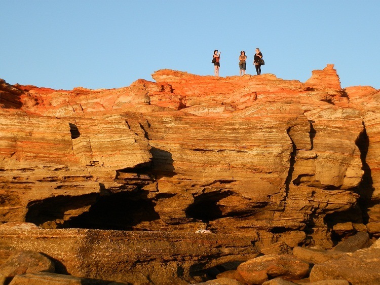 Rocks at twilight, Gantheaume Point, Broome, Western Australia