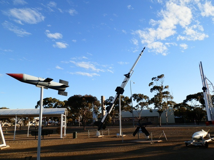 Outdoor Missile Park, Woomera, South Australia