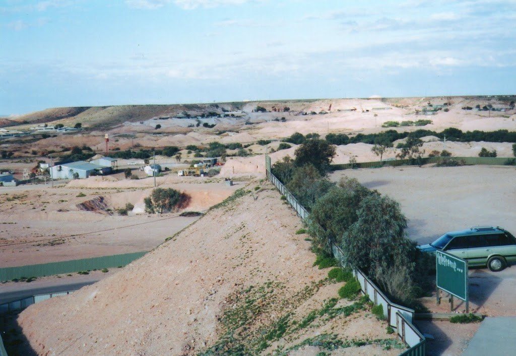 Coober Pedy from Lookout, South Australia