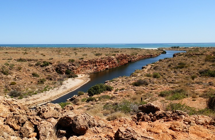 Yardie Creek Gorge, Cape Range National Park, via Exmouth, Western Australia