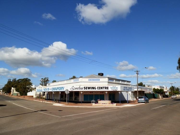 Downtown Carnamah, Western Australia