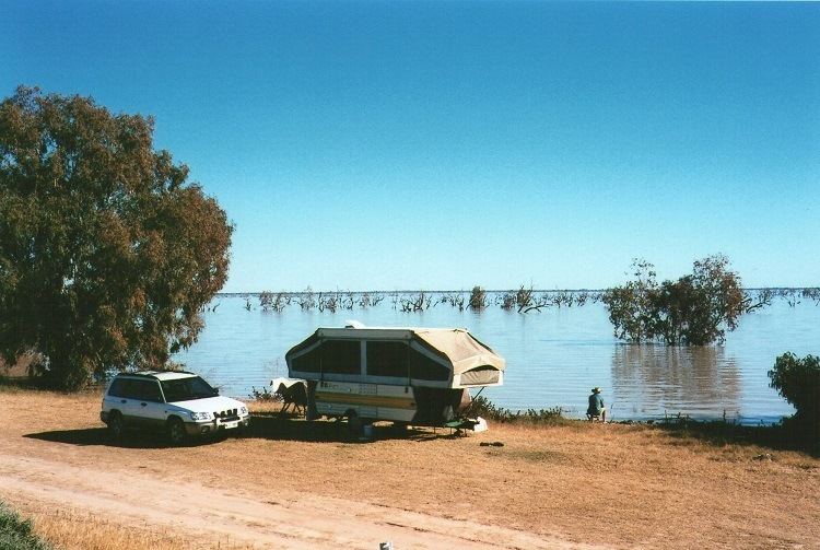 Lake Pamamaroo, Menindee Lakes, New South Wales