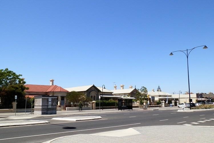 Semaphore streetscape, Adelaide, South Australia