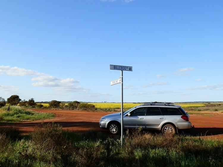 The Silver Bullet at the Billeroo School site, via Carnamah, Western Australia