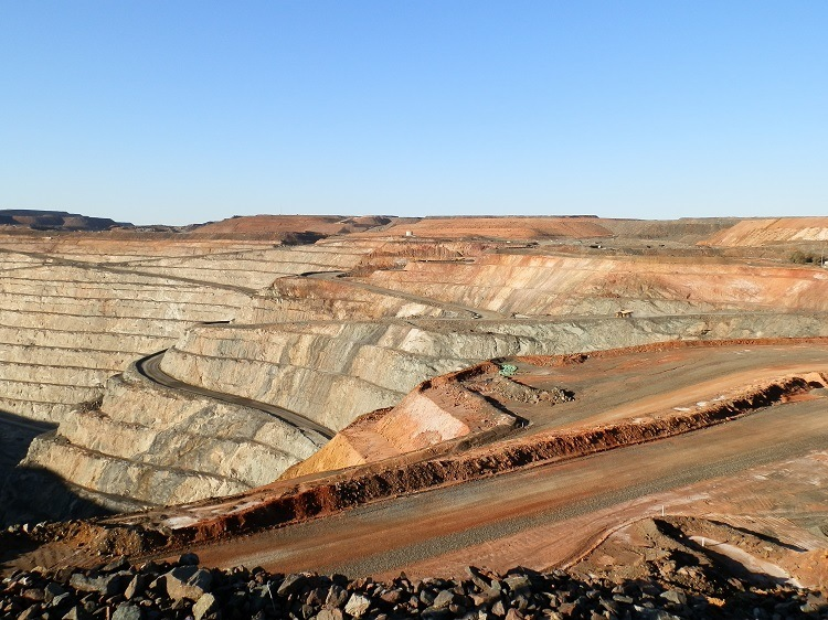 Section of Super Pit, Kalgoorlie, Western Australia