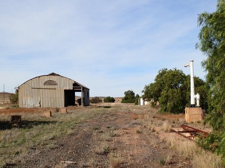 Eurelia Railway Station, South Australia