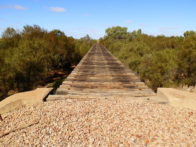 Farina Railway Bridge - part of the old Ghan Railway, South Australia