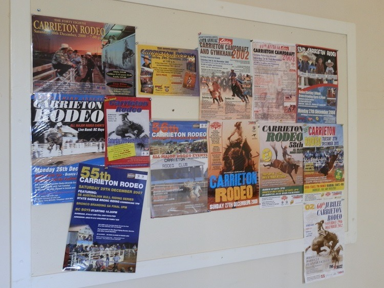 Carrieton Rodeo and Campdraft Posters