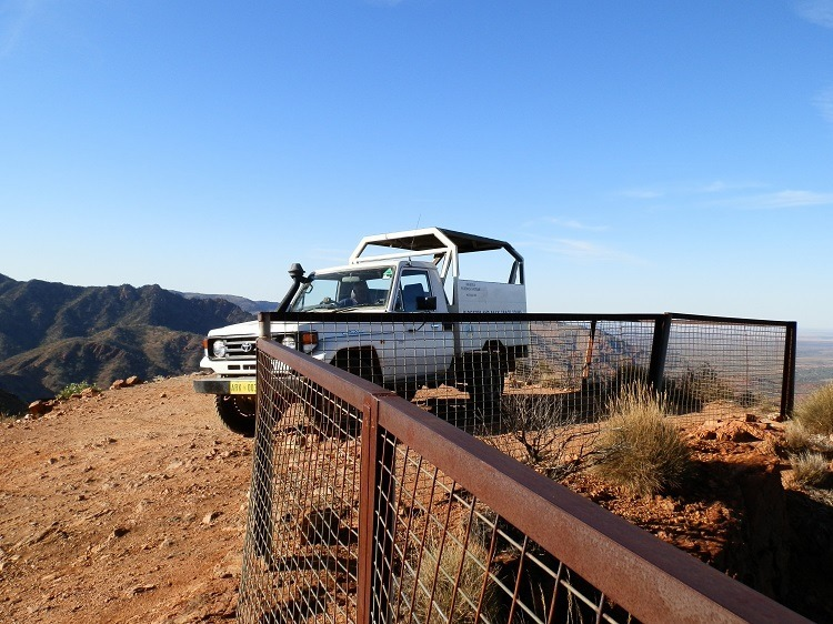 At Sillers Lookout, Arkaroola Wilderness Sanctuary