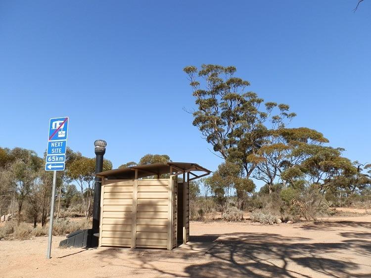 Not so Scenic! Nullarbor Rest Stop ...