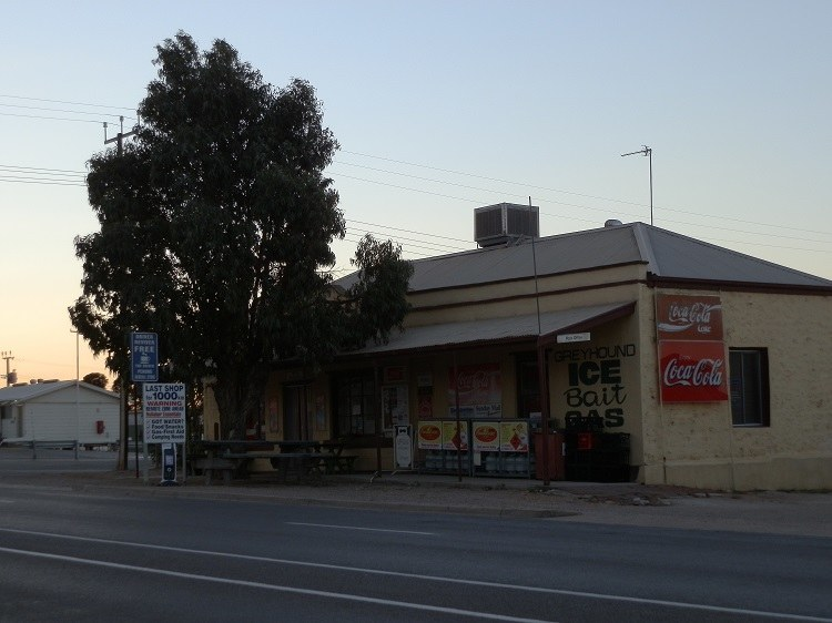 Last shop for 1000 km, Penong, South Australia
