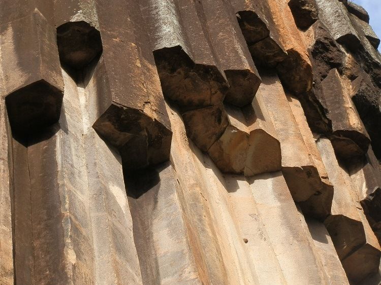 Sawn Rocks Close Up, Narrabri, New South Wales