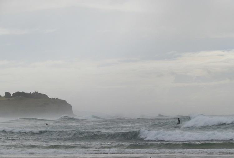 Surfing Sharpes Beach, Ballina, New South Wales