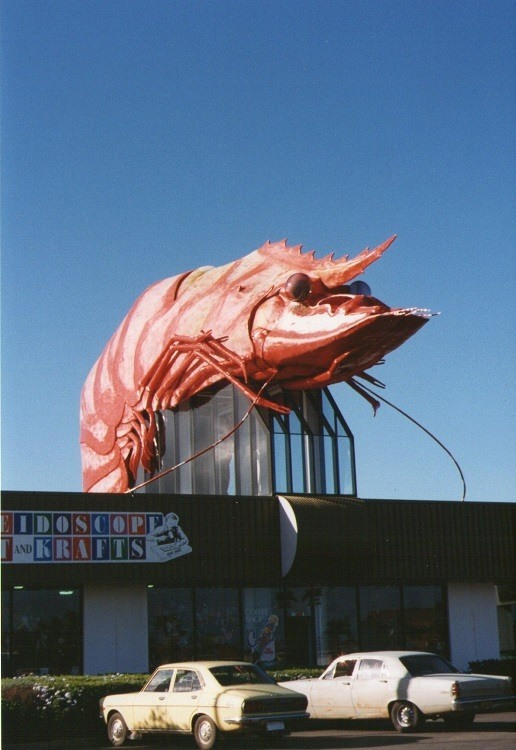The Big Prawn in the Good Old Days ... early 1990's