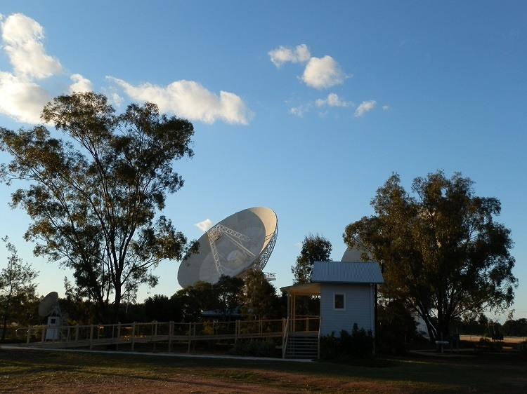 Australia Telescope Compact Array Visitor Conveniences, via Narrabri, New South Wales