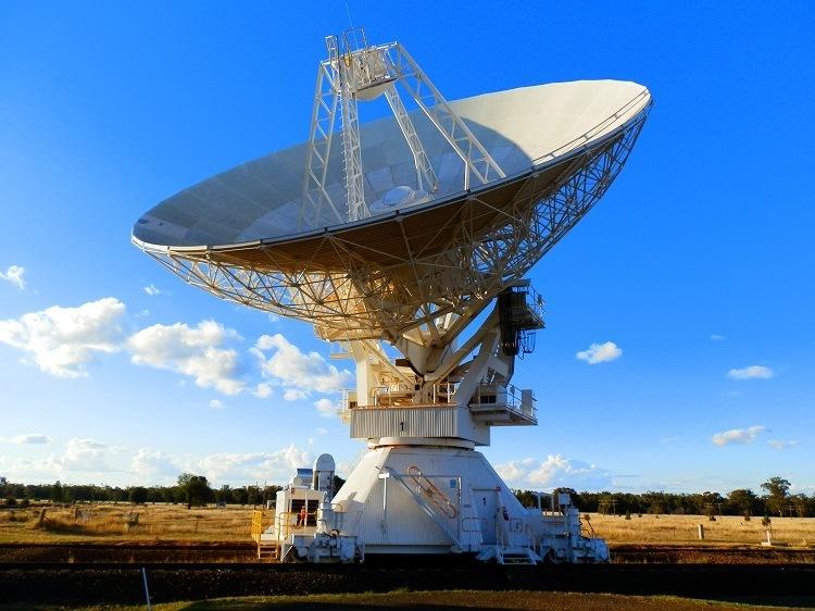 Radio Telescope #1, Australia Telescope Compact Array, via Narrabri, New South Wales