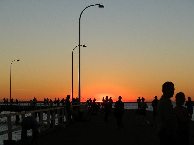 Sunset, Derby Jetty, Western Australia