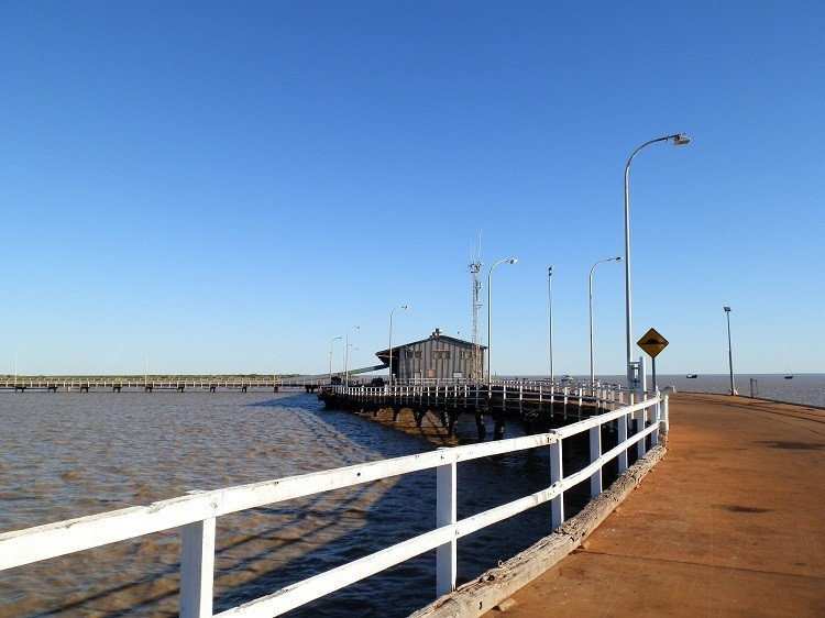 High Tide at Derby Jetty