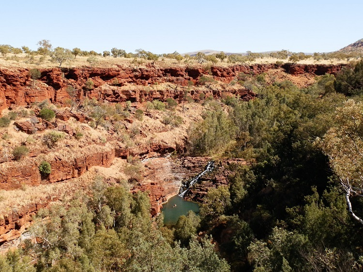 Dales Gorge and Fortescue Falls, Karijini National Park, Western Australia