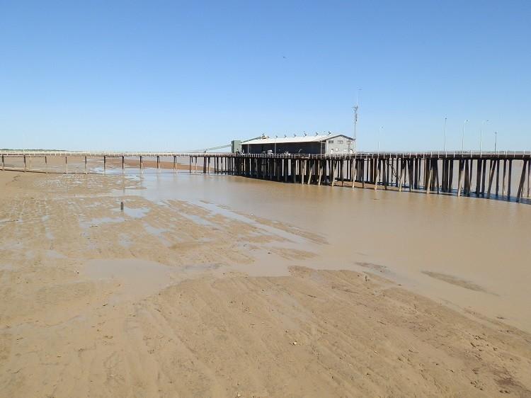 Low Tide at Derby Jetty, Western Australia