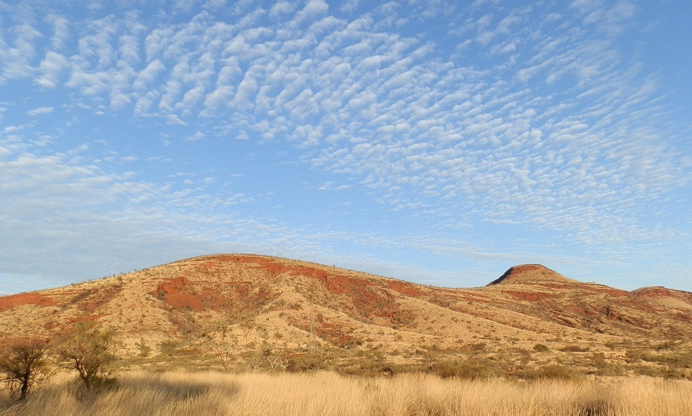 Hamersley Range from Tom Price Tourist Park, Pilbara, Western Australia