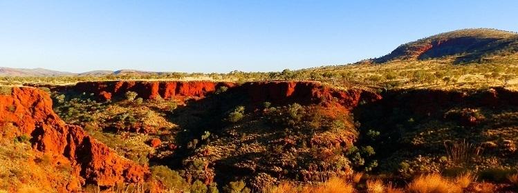 Sunset at Dales Gorge, Karijini National Park, Western Australia