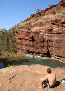 The 'View' from Fortescue Falls, Dales Gorge