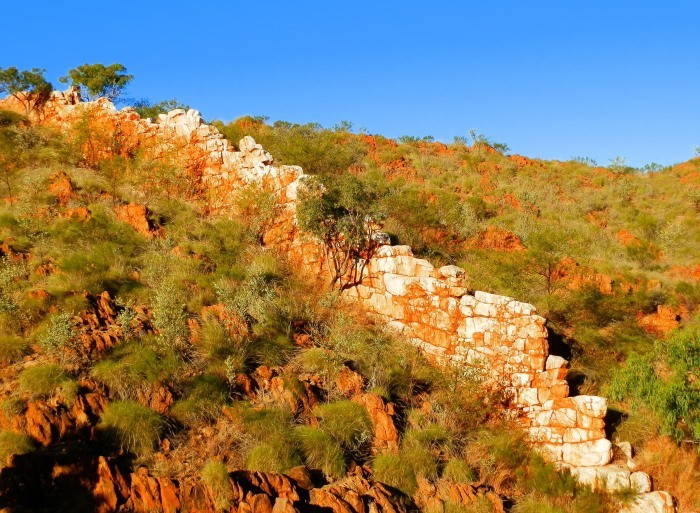China Wall, via Halls Creek, Western Australia