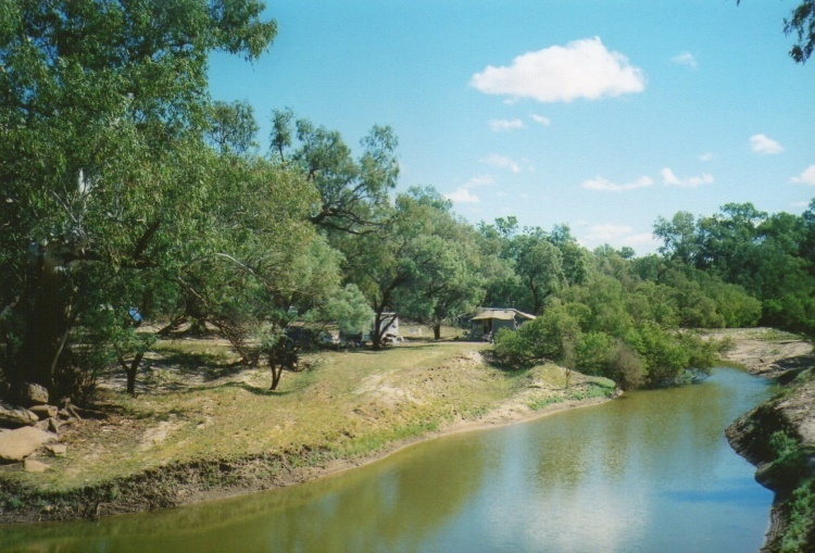 Barcoo River camping area, Isisford, Queensland