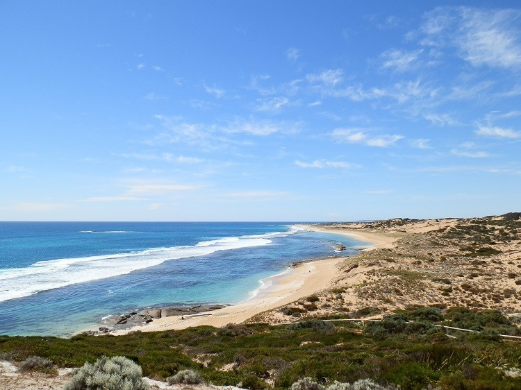 Brown's Beach, Innes National Park, South Australia