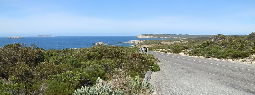 Entering Innes National Park, South Australia