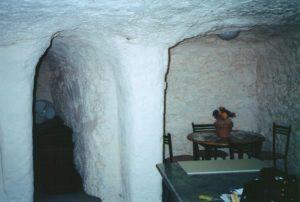 Underground in Coober Pedy, South Australia