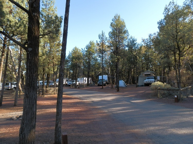 Wilpena Pound Resort Campground