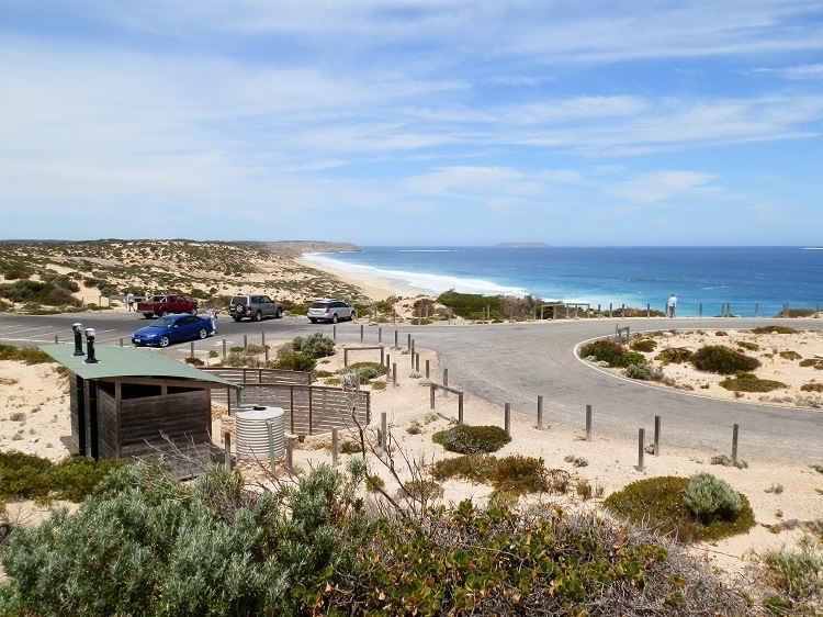 Scenic Public Toilet at West Cape Beach, Innes National Park, South Australia