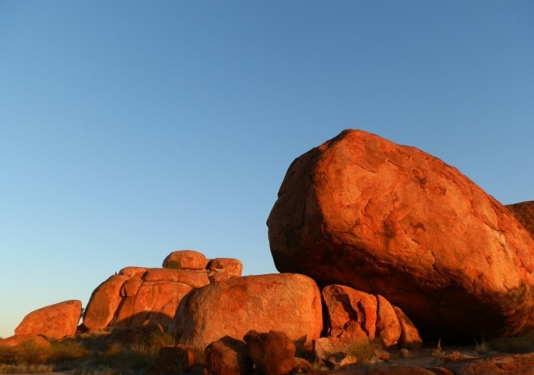 Sunset at the Devils Marbles, Northern Territory