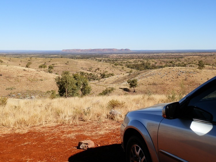Tylers Pass Lookout, West MacDonnell Ranges,  Central Australia