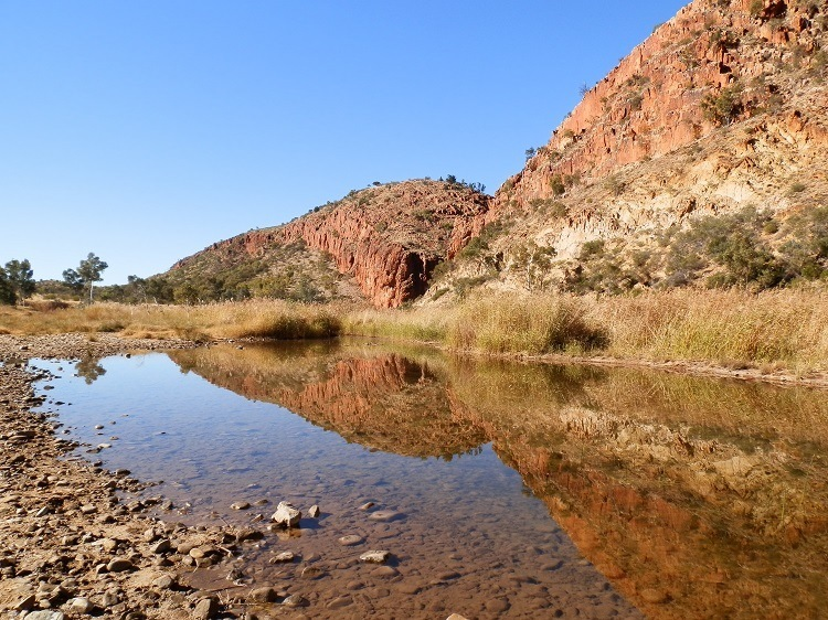 Glen Helen Gorge, West MacDonnell Ranges, Central Australia