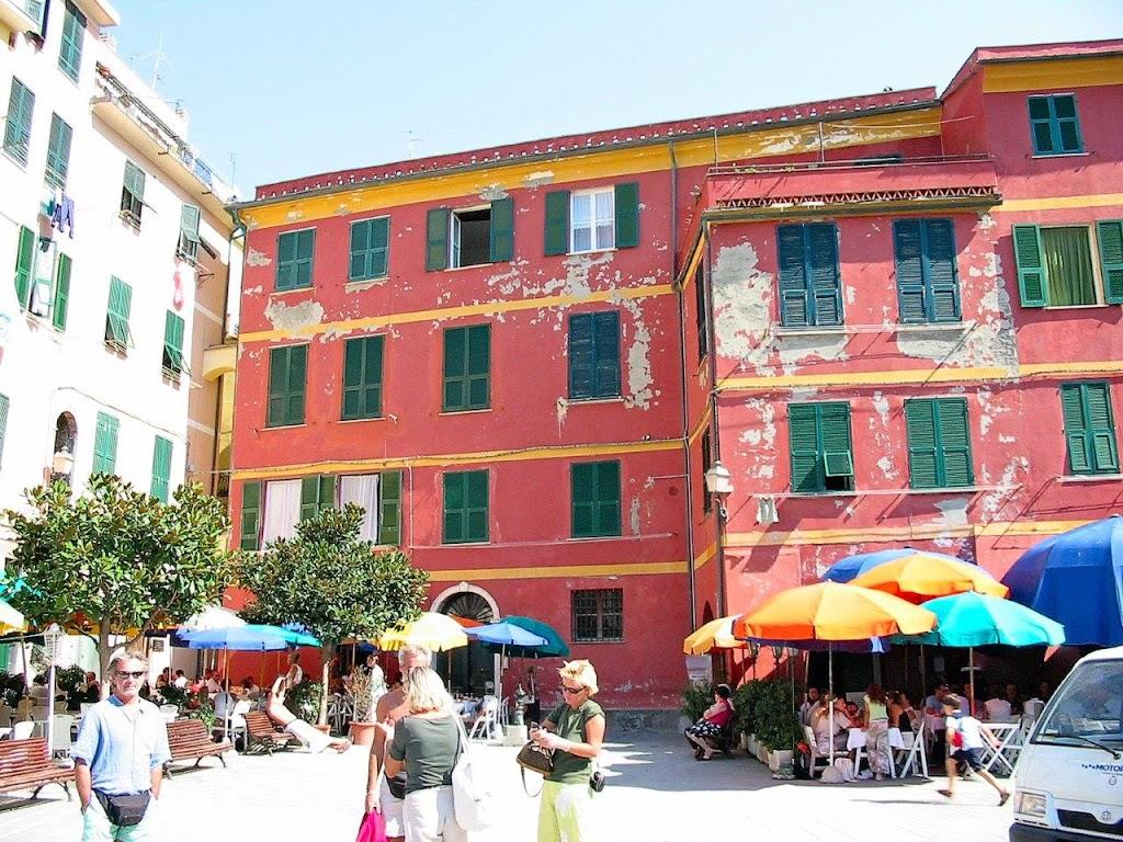 RED at Vernazza, Cinque Terre*