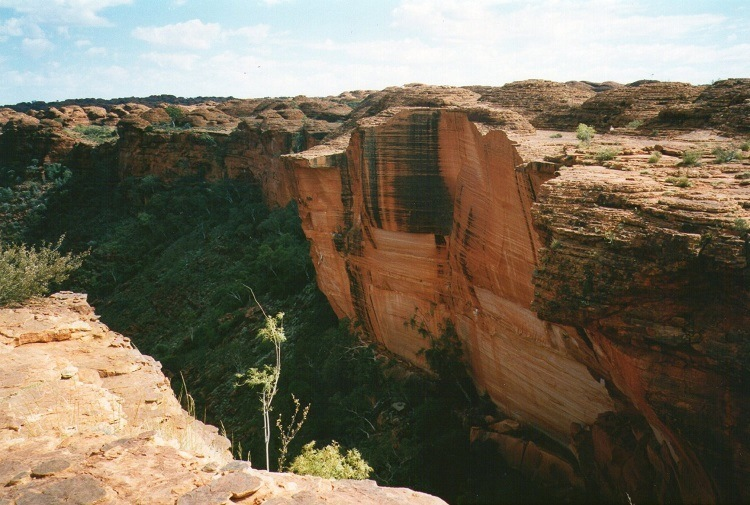Kings Canyon Walls, Central Australia