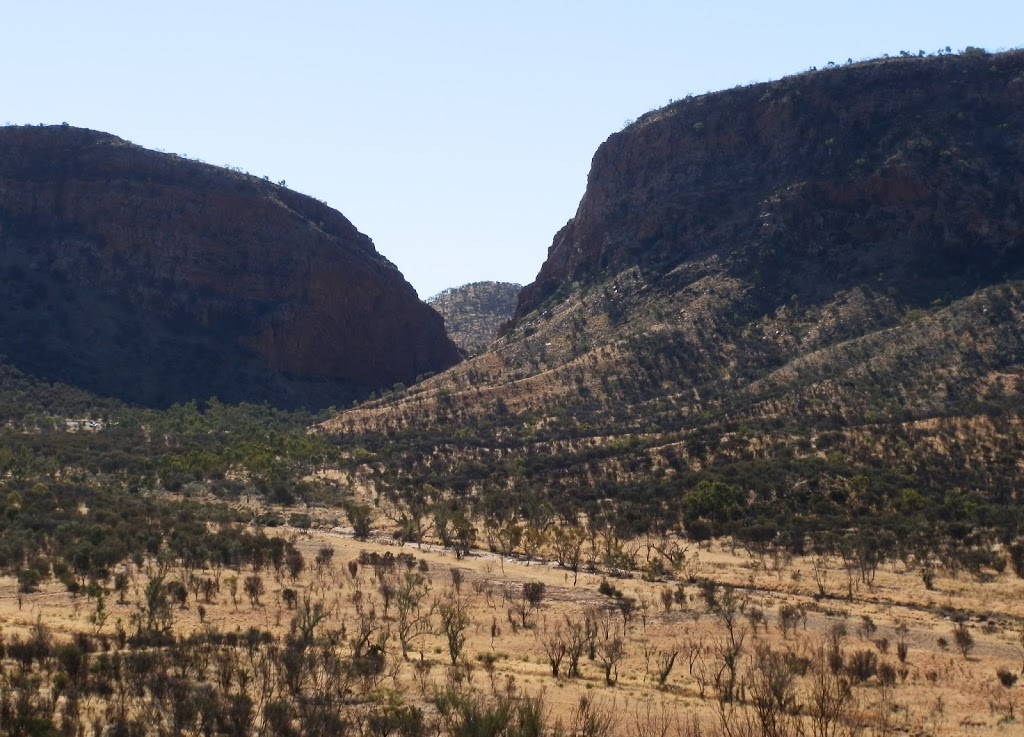 Simpsons Gap from Cassia Hill Walk, Central Australia