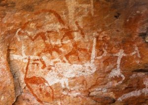 Aboriginal Art, Mt Grenfell, Outback NSW
