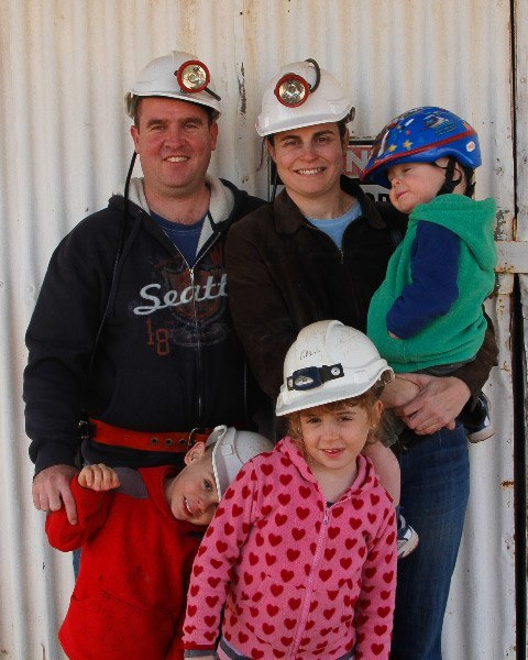 Anne & Family (all with RED), Daydream Mine via Silverton*