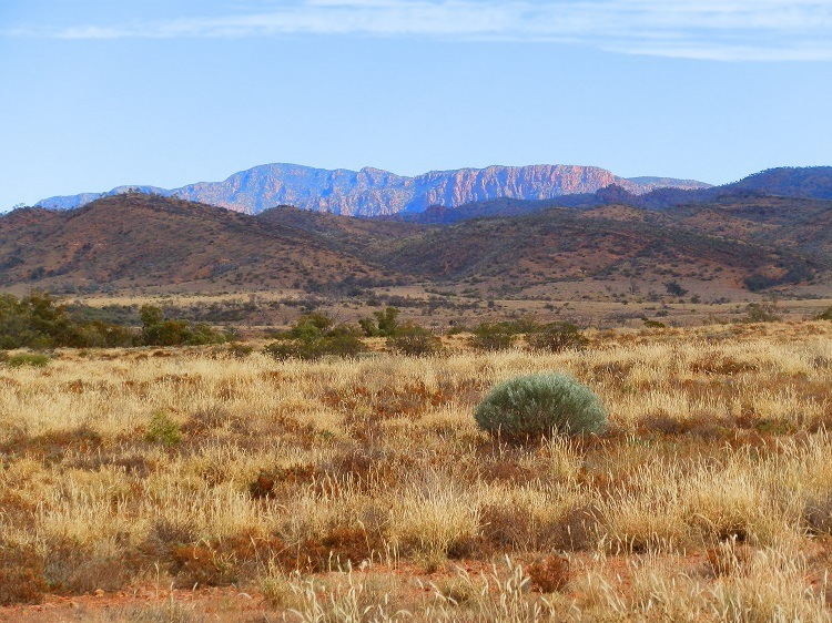 Scenery on way to Arkaroola