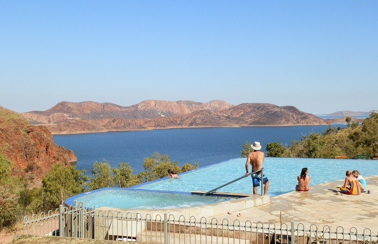 Infinity Pool, Lake Argyle