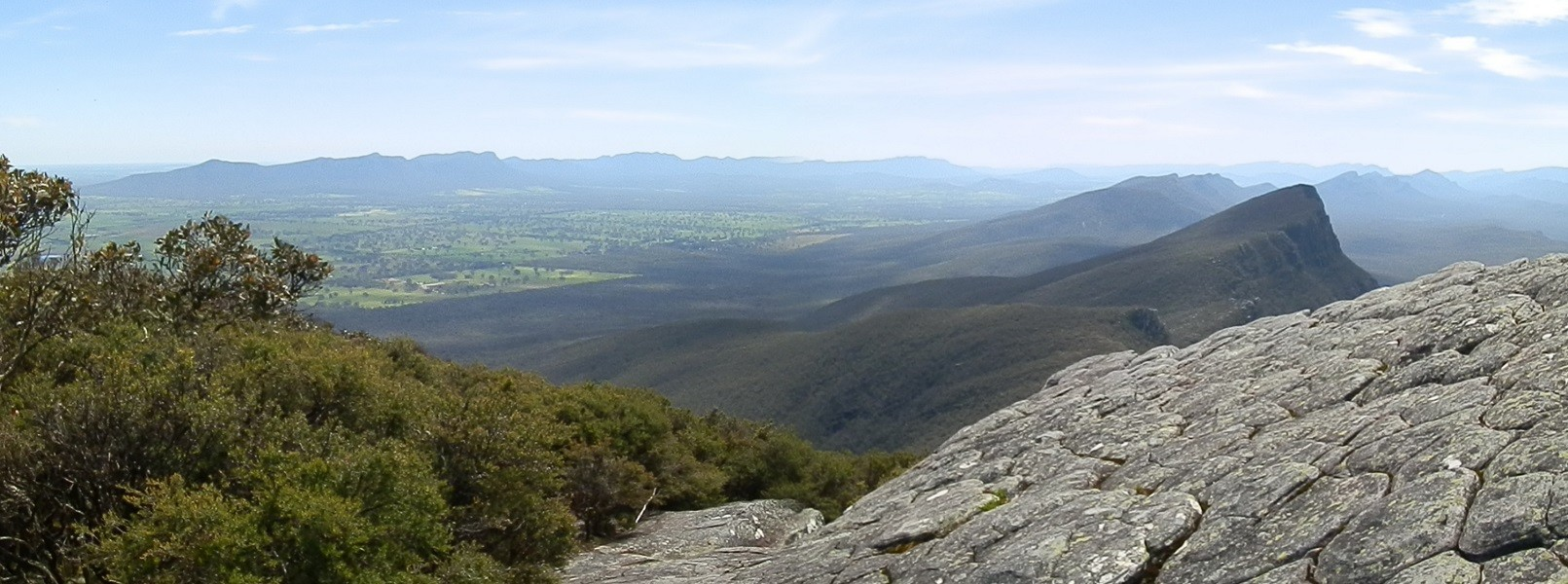 View from Mt Abrupt Summit