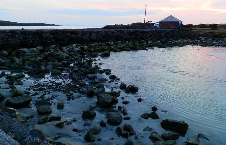 Sundown at Port Fairy, Victoria