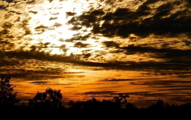 Sunset at Bingara, New South Wales